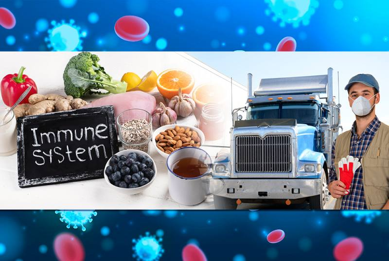Truckers, learn how to improve your immune system